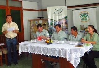 Organización de conferencias de prensa