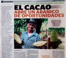 El cacao abre un abanico de oportunidades