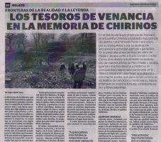Los tesoros de Venancia en la memoria de Chirinos